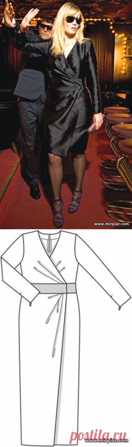 Платье миди, макси и туника - большие размеры (шитье, выкройки)