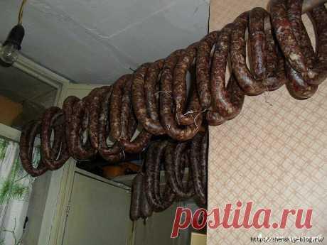 3 рецепта натуральной сыро-вяленой сухой колбасы своими руками