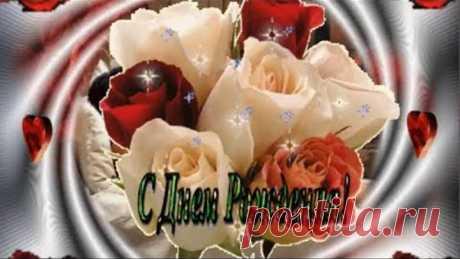 Очень красивое и изящное  поздравление с Днем Рождения женщине