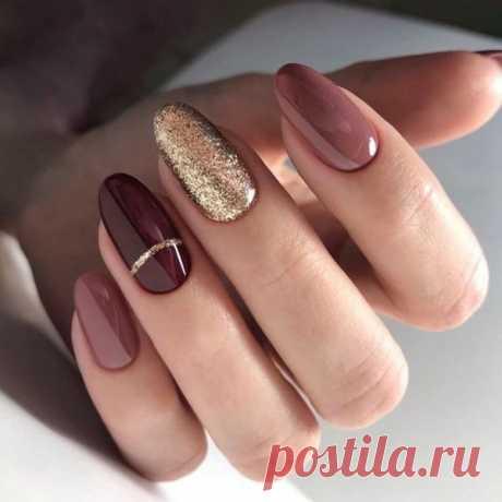 Невероятно красивые варианты маникюра на овальную форму ногтей — Мир интересного