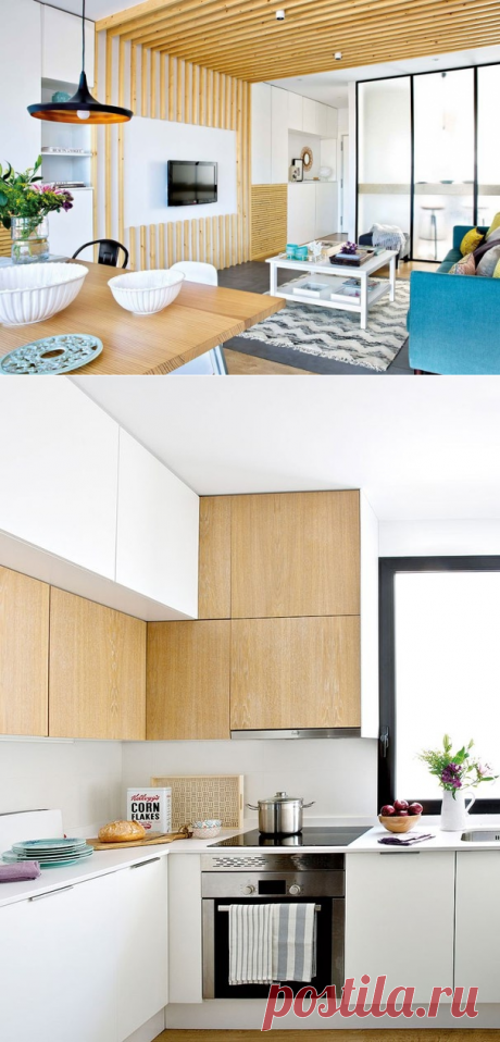 The bright spacious apartment in Spain (70 sq.m) - Interior design | Ideas of your house | Lodgers