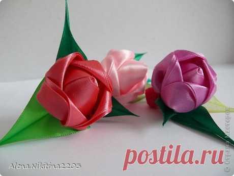 М.К. бутона розы