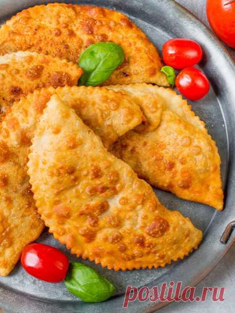 Рецепт чебуреков на кефирном тесте на Вкусном Блоге