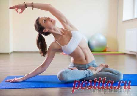 Позы йоги для подтянутого и красивого живота и узкой талии