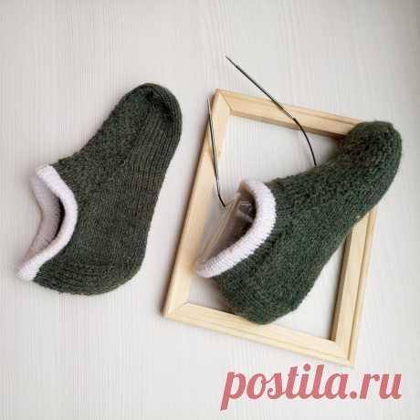 Короткие носки для отечных ног | Записки Спицеманьяка | Яндекс Дзен