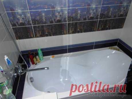Наша маленькая и уютная ванная комната