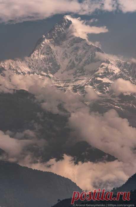 Арсений Герасименко (nat-geo.ru/community/user/49941/) делится с нами видом из окна его отеля в Гималаях. Совсем чуть-чуть завидуем, сильно восхищаемся и желаем всем доброго утра.