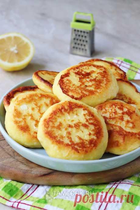 Лимонные сырники — рецепт с фото пошагово