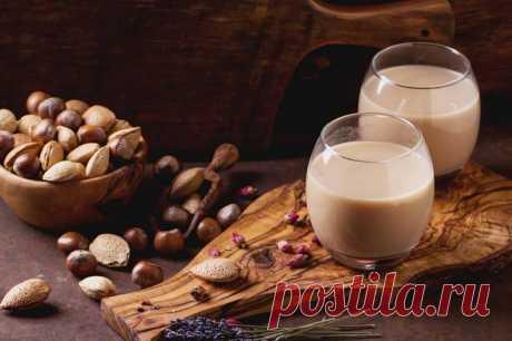 Шоколадно-ореховое молоко