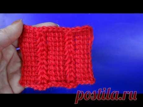 Узор вязания крючком Тунисское вязание 22