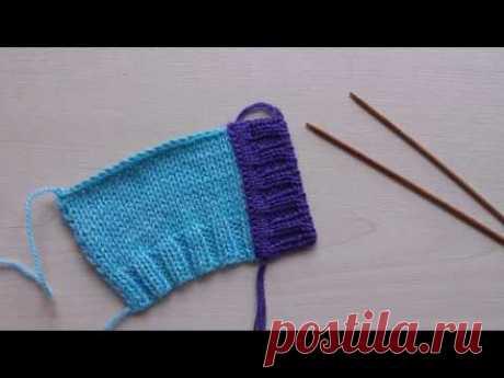 Вязание планки для кардигана, кофты и пр