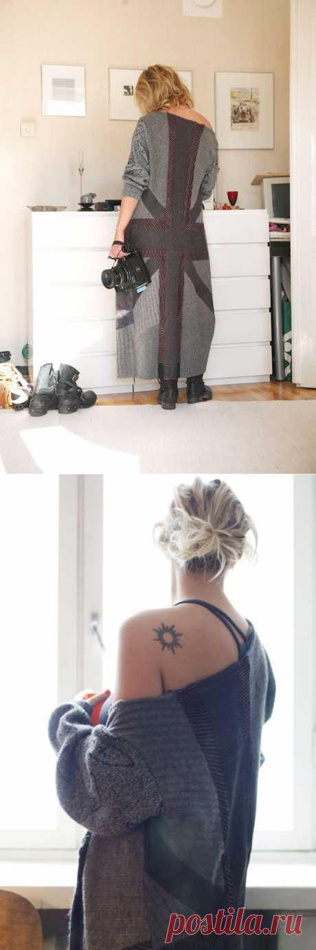 Лоскутный свитер / Свитер / Модный сайт о стильной переделке одежды и интерьера