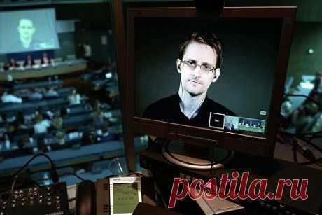 Сноуден предупредил об опасных последствиях сбора личной информации - Общество - ТАСС