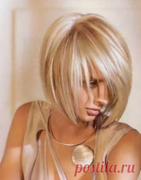 Стрижка Каре на средние волосы   Стрижки и Прически