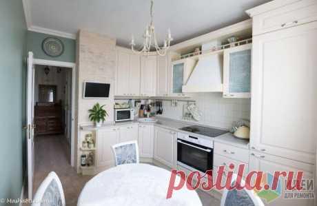 Кухня в доме серии П-44, планировка кухни, мебель для кухни, вытяжка в кухню, купольная вытяжка, как выбрать шкафы на кухню   Идеи для ремонта