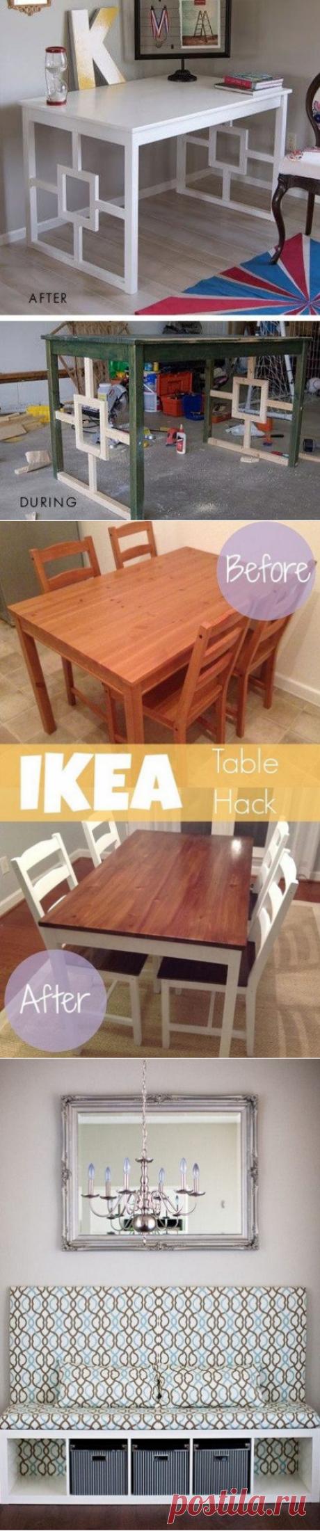 Идеи переделки мебели