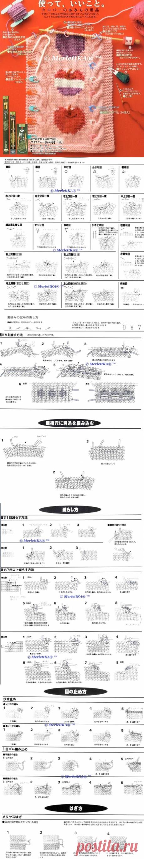 Самая подробная расшифровка японских схем и иероглифов