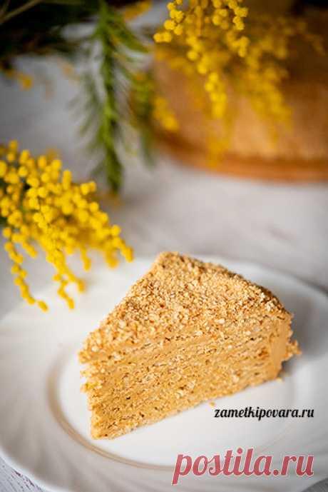 Торт «Арахисовая коровка» | Простые кулинарные рецепты с фотографиями
