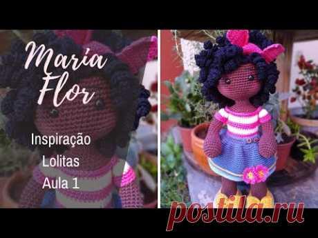 AULA 1 - MARIA FLOR (Inspiração Lolitas)
