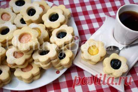 Печенье Сабле - пошаговый рецепт с фото