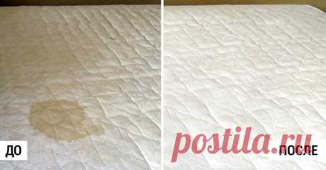 Самый эффективный способ почистить матрас: избавляемся от пятен и запаха! - Полезно Знать