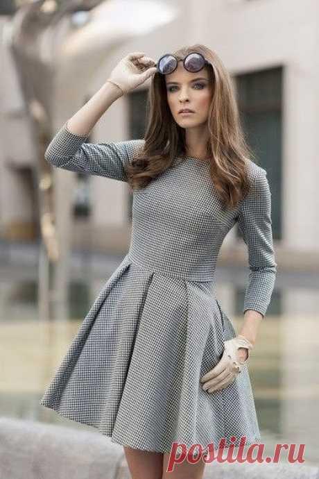 Выкройка женского платья. Размеры 36-46 евро (Шитье и крой) — Журнал Вдохновение Рукодельницы