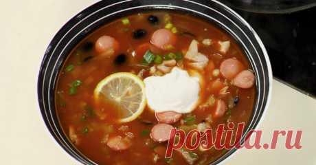 Рецепт с фото - солянка Подробный и вкусный рецепт солянки на телеканале Еда - фото, описание, видео, отзывы.