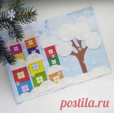 новогоднее творчество для детей