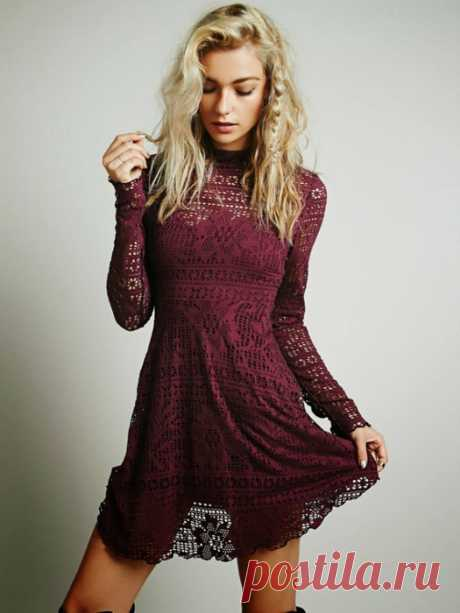 Dresses crochet loin pattern. Fillet crochet patterns | Домоводство для всей семьи.