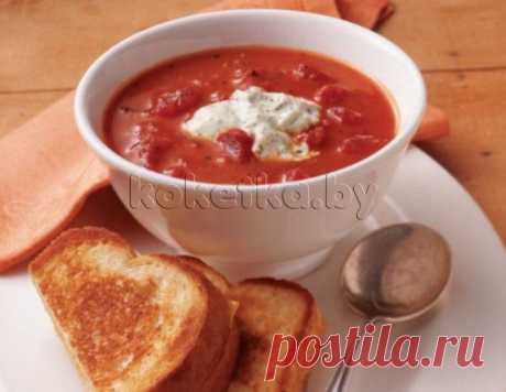 Томатный крем-суп | Интересные рецепты