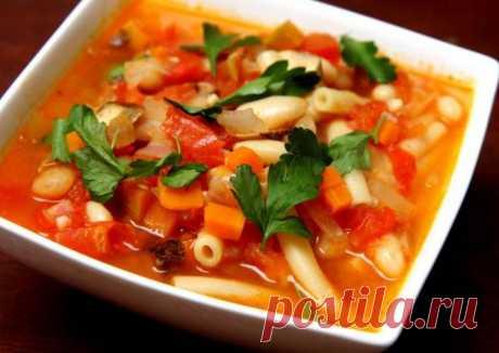 (2) Итальянский овощной суп Минестроне - пошаговый рецепт с фото. Автор рецепта Александра . - Cookpad