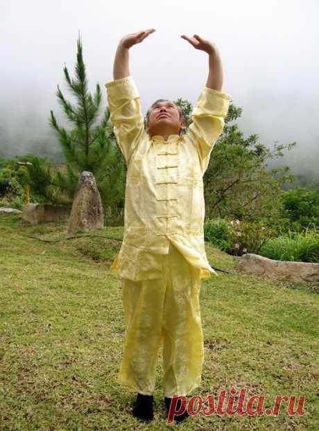 Золотые Упражнения Цигун — Подъем Неба | Найди Себя