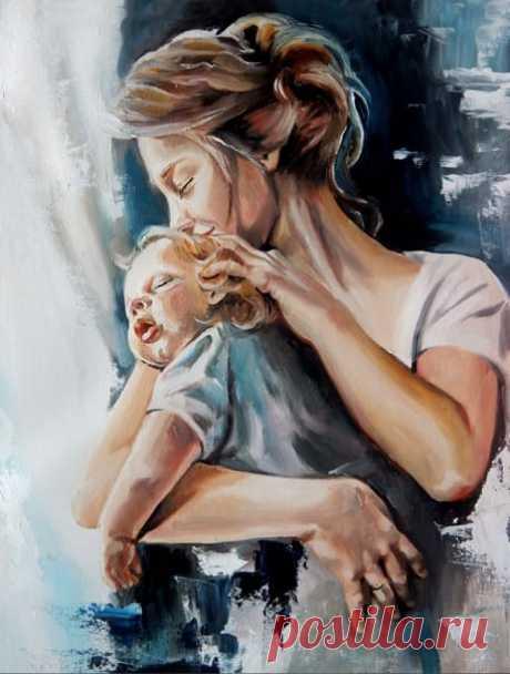 """...Когда-нибудь мы будем скучать по крошкам на диване, изрисованным обоям и громкому в 7 утра: """"Мамочка, проснись!"""". Самое счастливое время – оно сейчас, пока наши дети с нами, на расстоянии вытянутой руки, на расстоянии негромкого: """"Где ты, малыш?"""", на расстоянии взгляда..."""