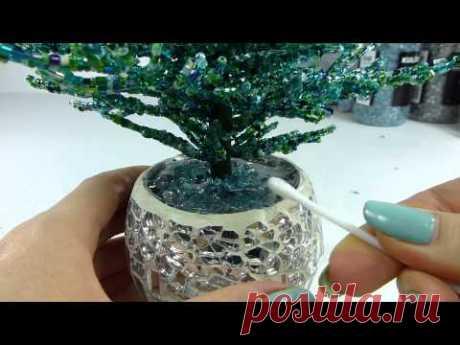 Голубая ель. Урок 5 - Посадка и декорирование / Blue spruce. Lesson 5 - Planting and decoration