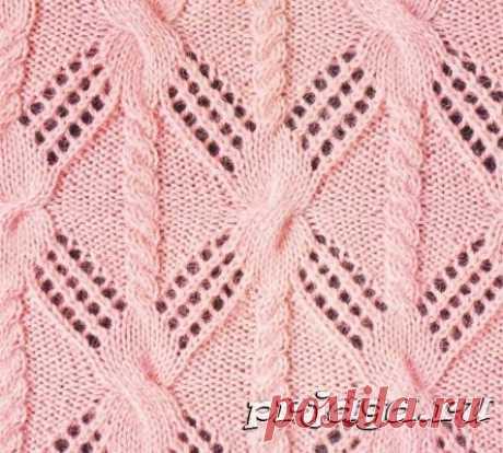 Узоры вязания спицами - Результаты из #230