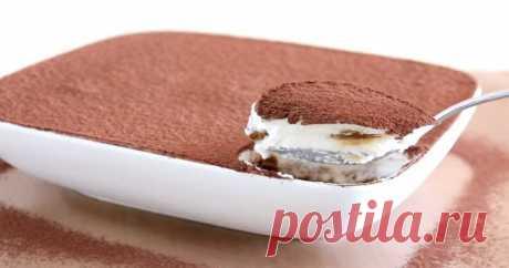 Как приготовить легкий и вкусный десерт «Тирамису» Вкусный десерт по этому рецепту вы быстро приготовите.