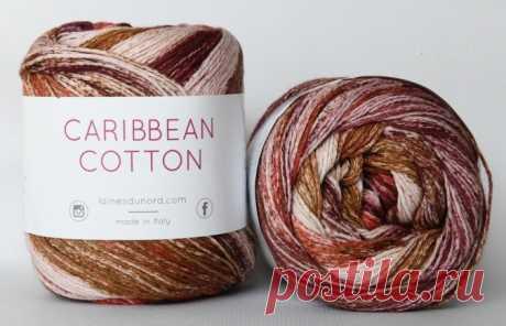 Пряжа Laines du Nord Caribbean Cotton в Краснодаре купить в интернет-магазине по низкой цене