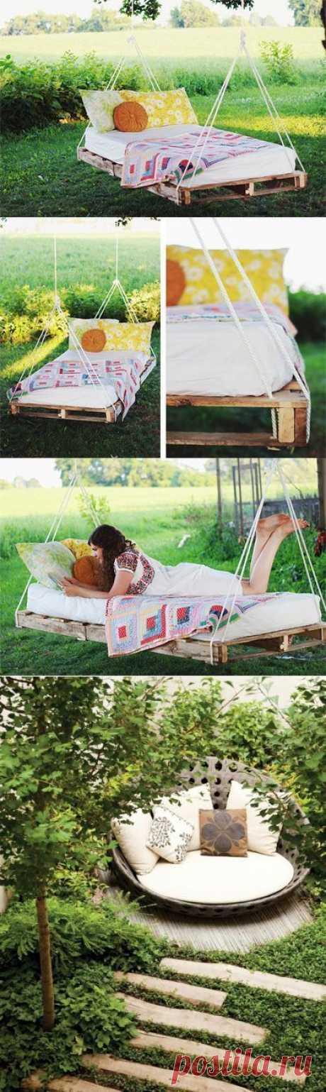 Место для отдыха в саду / Я - суперпупер