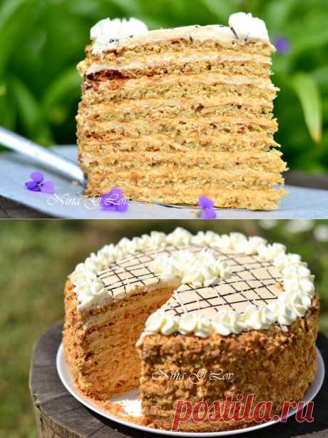 "With love, taste and beauty... : Арахисовый торт ""Коровка"""