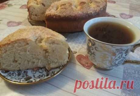 Сахарный пирог со сливками – безумно вкусный и простой!