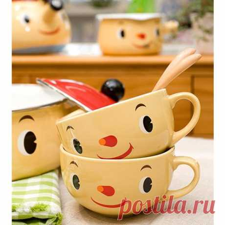 Весёлая посуда для детей и взрослых!
