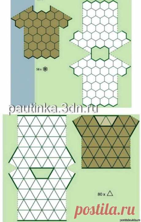 Схемы сборки для вязания