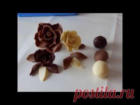 шоколад для моделирования, шоколадная мастика /Modelierschokolade