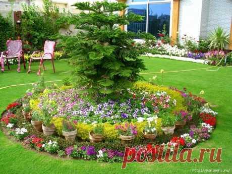 Уютные садовые уголки