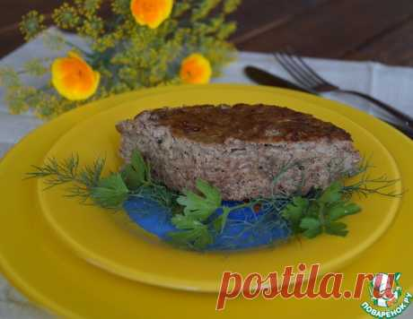 Суфле из печени с кабачком - кулинарный рецепт