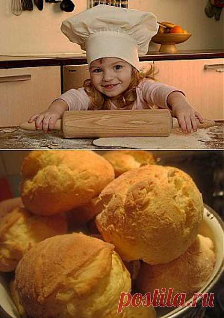 Сдобные булочки из творога без масла. Быстрые домашние булочки. | Готовим вместе