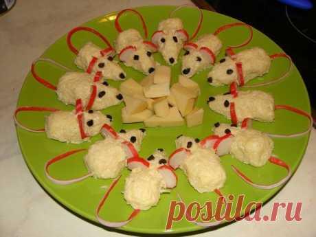 Сырная закуска «Мышки» / Занимательная реклама