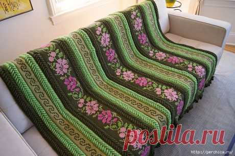 The Tunisian knitting for beginners - the fullest grant