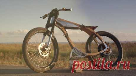 """Rocsie Wooden e-Motorbike Cafe Racer Inspired from the classic """"Cafe Racers"""" from the 50s, our ROCSIE is """"a state of the art"""" bike. Its elegant design is based in the use of noble materials: woo..."""