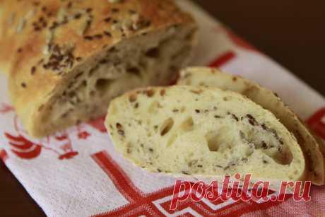 Пшеничный хлеб с семенами льна рецепт с фото Вкусный рецепт приготовления пшеничного хлеба с семенами льна в домашних условиях. Пшеничный хлеб с семенами льна рецепт с фото по шагам